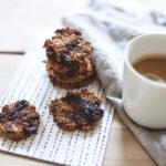 Banan-choko cookies