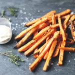 Fritter af søde kartofler