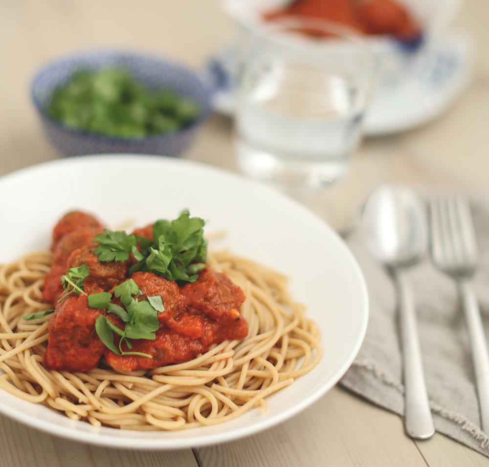 spaghetti a la lady og vagabonden