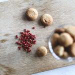 Pebernødder med rosenpeber