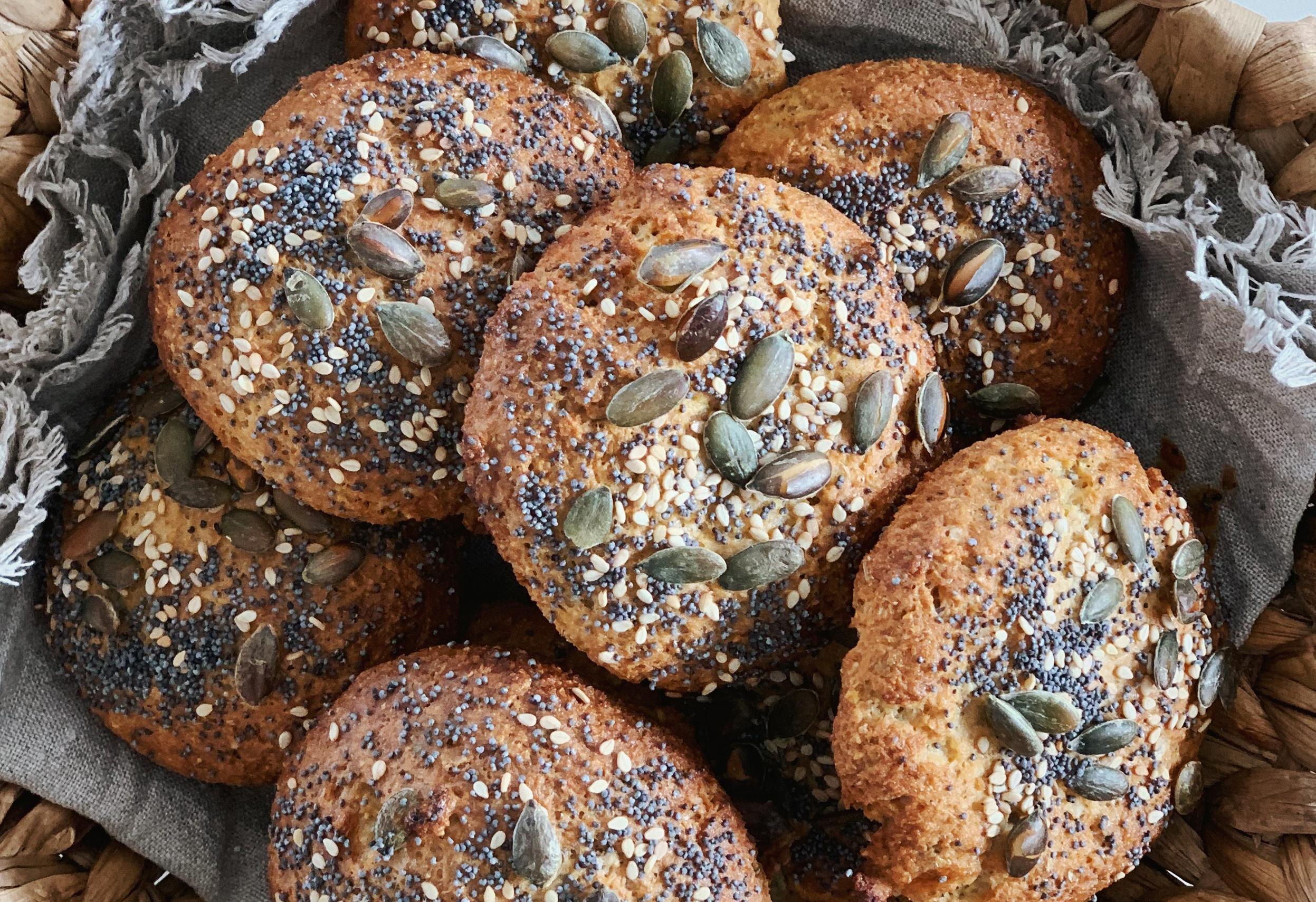 glutenfri brunchboller